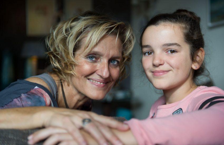 Janet met parkinson en dochter Alicia