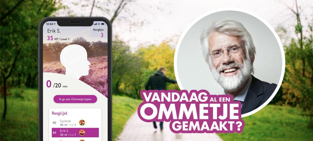 Ommetje-app-Hersenstichting-wandelen-met-Erik-Scherder
