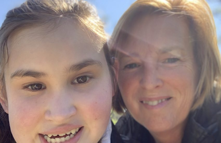 Natasja blogt over dochter Mirre met Microcefalie