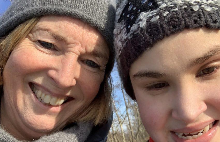 Natasja en Mirre met microcefalie